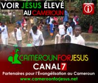 Voir Jésus élevé au Cameroun